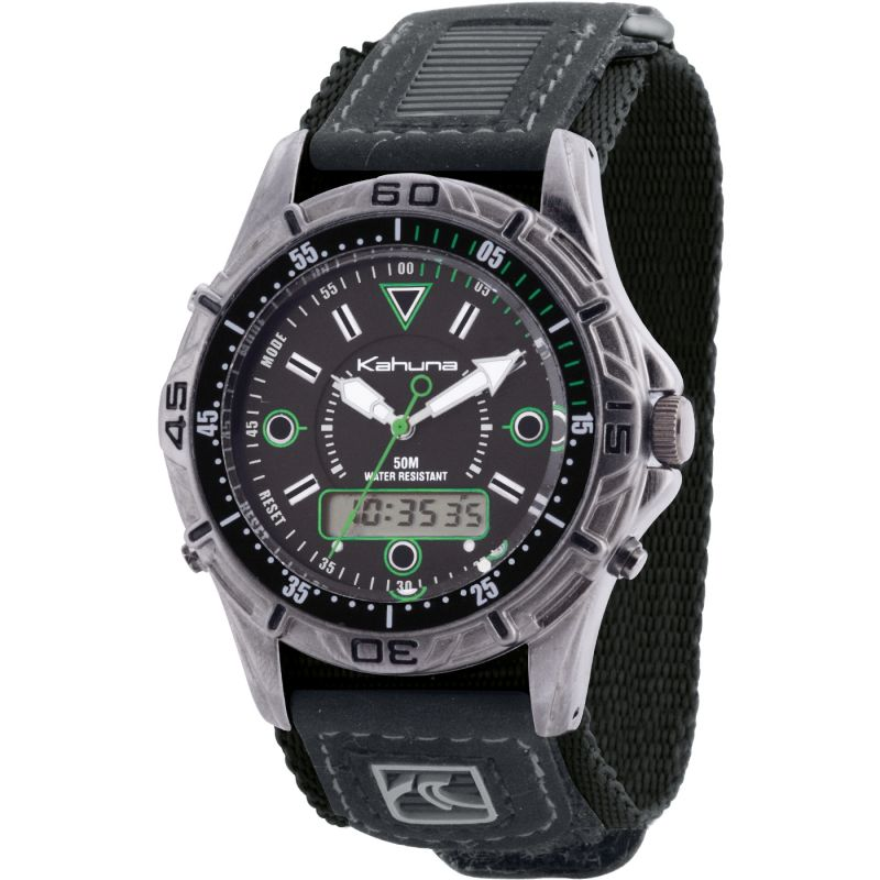 Herren Kahuna Velcro Chronograph Watch K5V-0004G