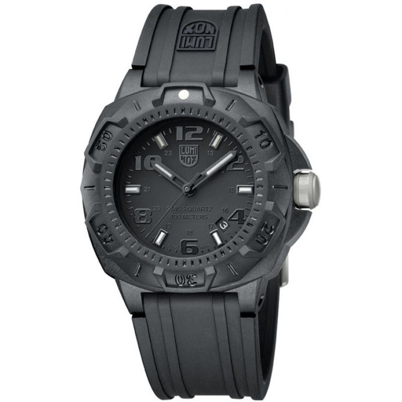 Herren Luminox Sentry 0200 Series Blackout Watch A0201.BO
