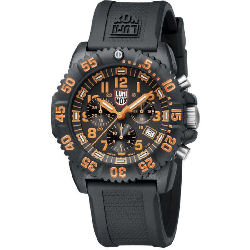 Herren Luminox Navy Seal Colormark 3080 Series Chronograph Watch A3089