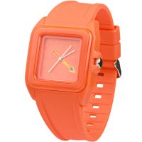 Unisex Breo Cube Orange Watch B-TI-CUB1