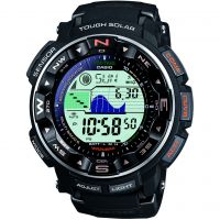 Herren Casio Pro Trek Alarm Chronograph Watch PRW-2500-1ER
