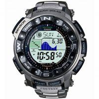 Herren Casio Pro Trek Alarm Chronograph Radio Controlled Watch PRW-2500T-7ER