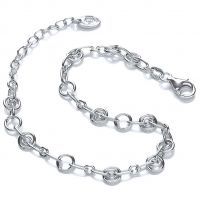 Damen Royal London Sterlingsilber Anhänger Armband