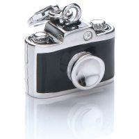Damen Royal London Sterlingsilber Camera Anhänger