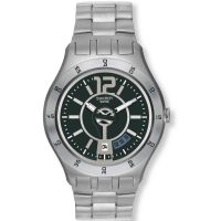 Mens Swatch In A Grayish Mode Watch
