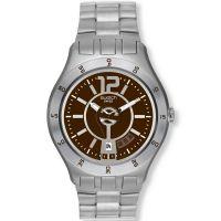 Herren Swatch In A Braun Stimmung Uhr