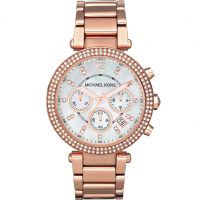 Damen Michael Kors Parker Chronograph Watch MK5491
