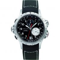 Herren Hamilton Khaki ETO Flyback Chronograph Watch H77612333
