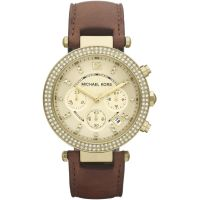 Damen Michael Kors Parker Chronograf Uhr