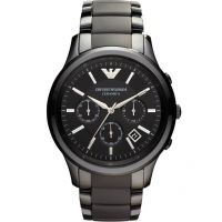 Mens Emporio Armani Ceramic Chronograph Watch