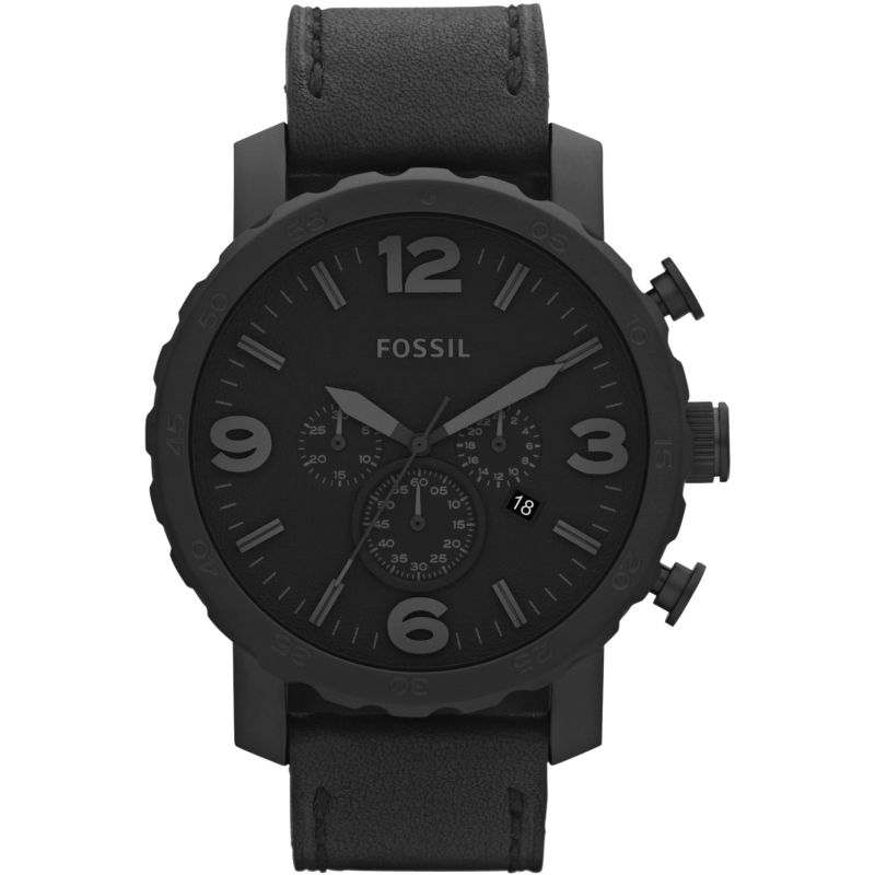 Herren Fossil Nate Chronograph Watch JR1354
