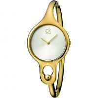 Damen Calvin Klein Air Small Bangle Watch K1N23526