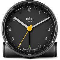 Wanduhr Braun Clocks BNC001 Classic Bedside Alarm BNC001BKBK