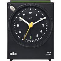 Braun Clocks Voice Activated Bedside Wecker Uhr