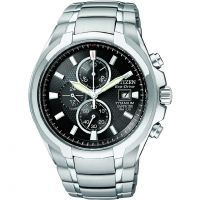 Hommes Citizen Titane Chronographe Eco-Drive Montre