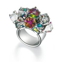 Swatch Bijoux Love Explosion Ring Size P JEWEL