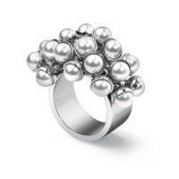 Damen Swatch Bijoux Edelstahl Love Explosion Ring Größe N