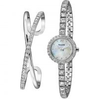 Ladies Accurist Bangle Gift Set Watch
