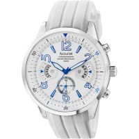 Mens Accurist Acctiv Chronograph Watch