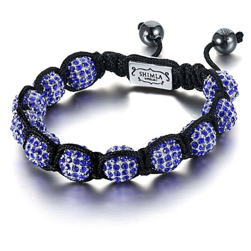 Shimla Stainless Steel Luxury Originals Purple Stone Bracelet Small SH-034S