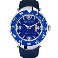 homme Holler Goldwax Blue Watch HLW2188-5