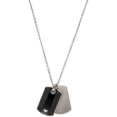 Herren Emporio Armani Edelstahl Halskette