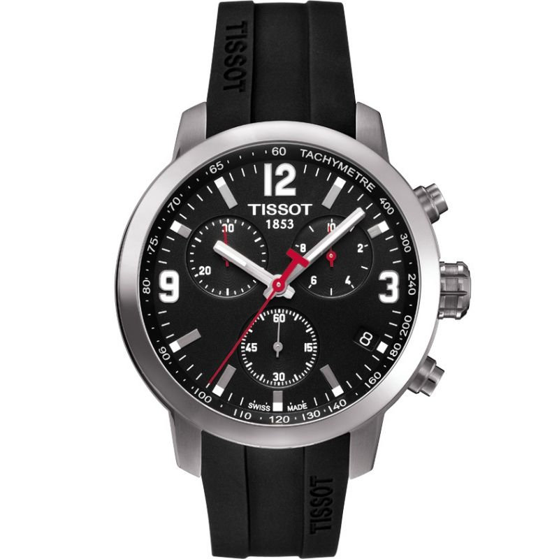 Herren Tissot PRC200 Chronograph Watch T0554171705700