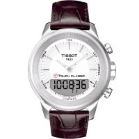 homme Tissot T-Touch Classic Alarm Chronograph Watch T0834201601100