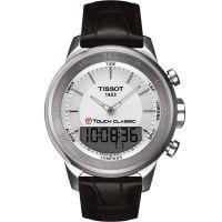 Hommes Tissot T-Toucher Classique Alarme Chronographe Montre