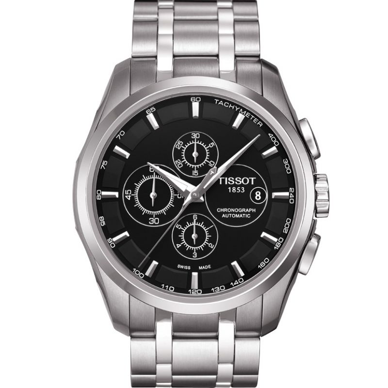 homme Tissot Couturier Chronograph Watch T0356271105100