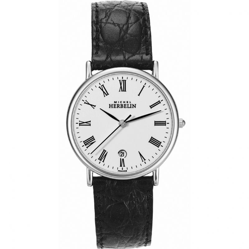 Herren Michel Herbelin Citadines Watch 12443/S01