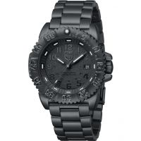 Herren Luminox Navy SEAL Steel Colormark 3150 Serie Blackout Uhr