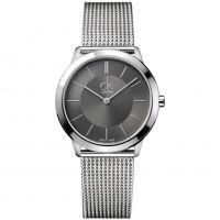 Herren Calvin Klein Minimal 35mm Watch K3M22124