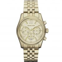 Damen Michael Kors Lexington Chronograf Uhr