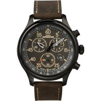homme Timex Indiglo Expedition Chronograph Watch T49905