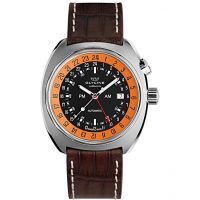 Mens Glycine Airman SST 12 GMT Automatic Watch 3903.196-LBN7