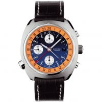 Herren Glycine Airman SST GMT Chronograph Watch 3902.186-LBN9