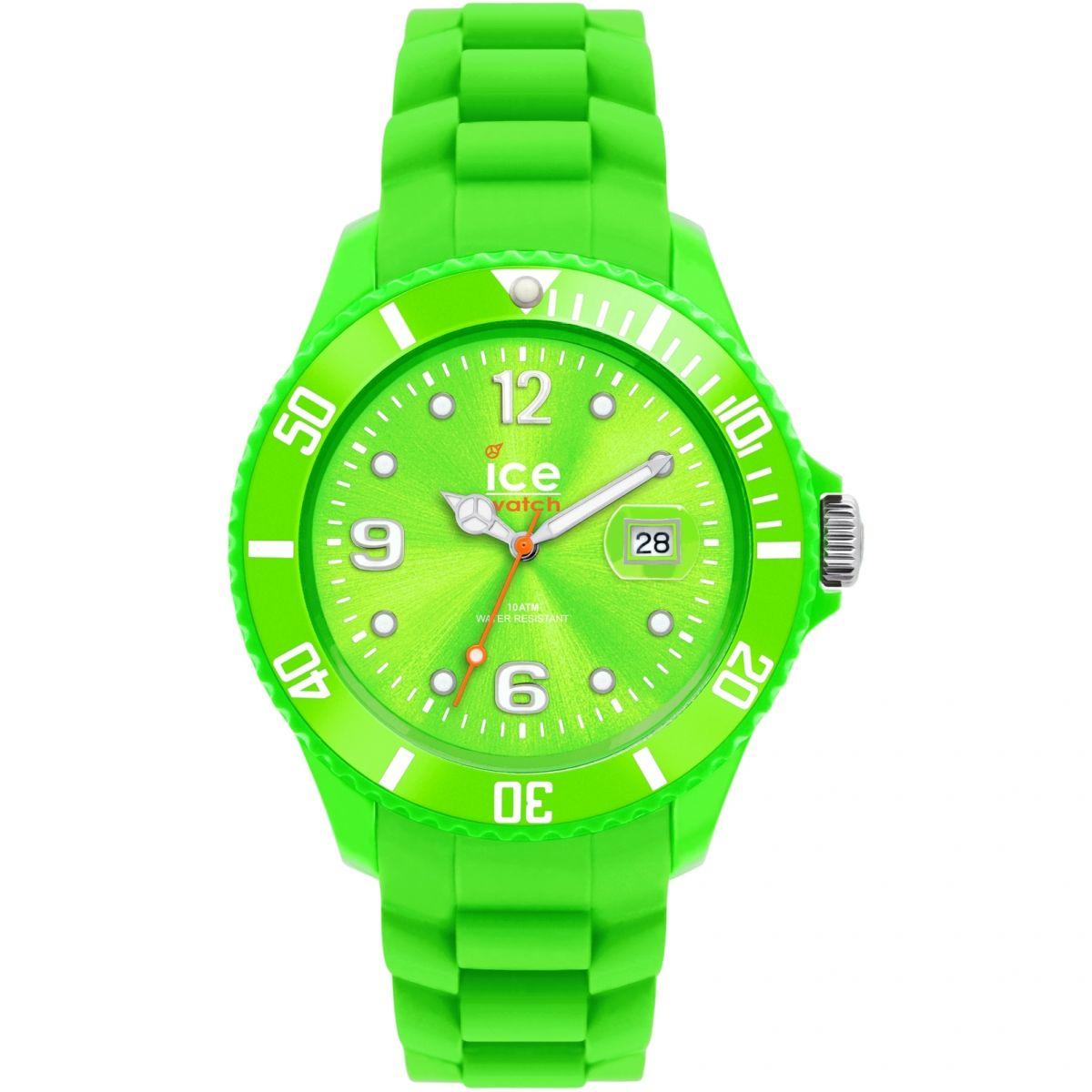 damen ice watch sili green small uhren 000126. Black Bedroom Furniture Sets. Home Design Ideas