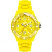 Big Ice-Watch Sili - yellow big Uhr
