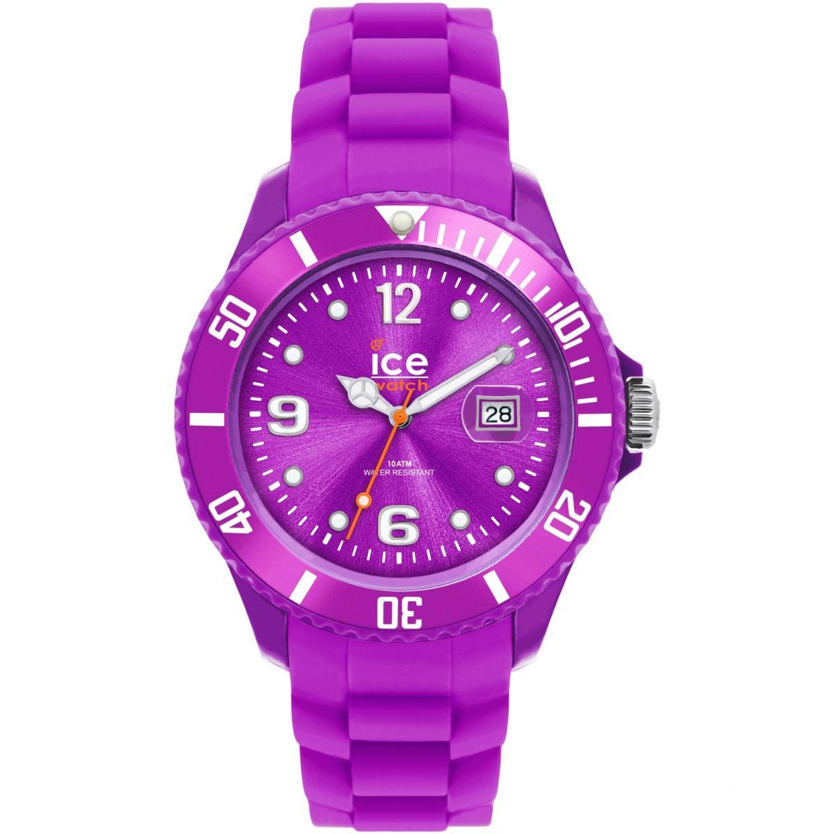 damen ice watch sili purple small uhren 000131. Black Bedroom Furniture Sets. Home Design Ideas