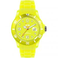 Ice-Watch Ice-Flashy - neon yellow big Unisex horloge Geel SS.NYW.B.S.12