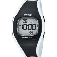 Damen Lorus Wecker Chronograf Uhr
