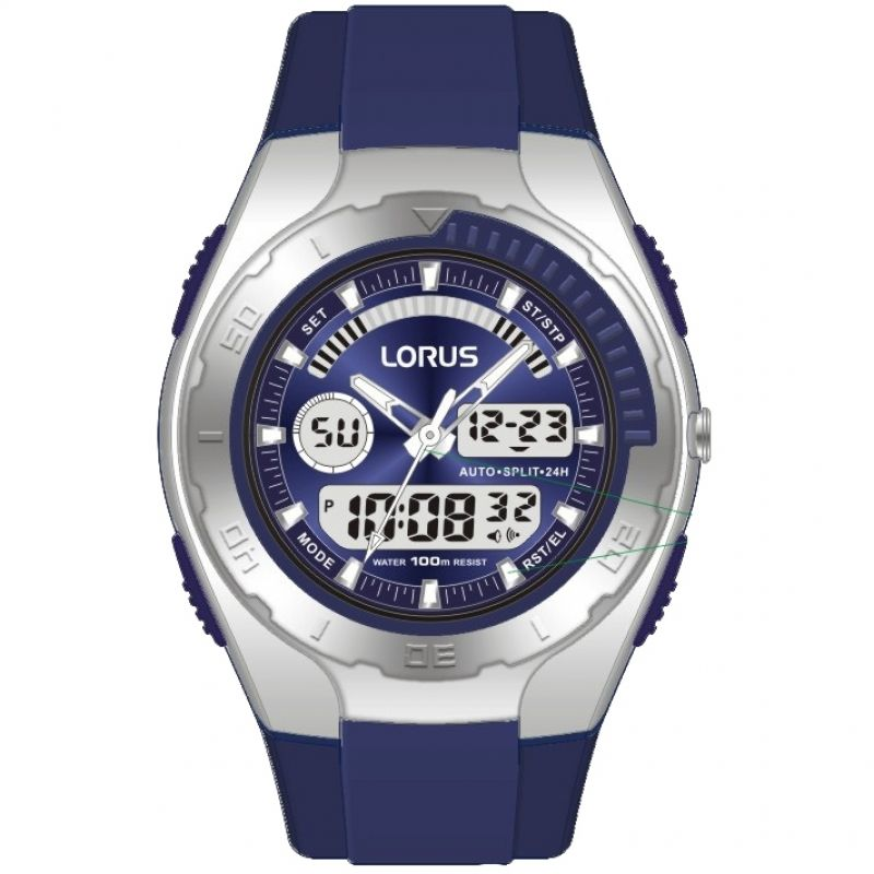 Herren Lorus Alarm Chronograph Watch R2391GX9