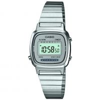 femme Casio Classic Collection Alarm Chronograph Watch LA670WEA-7EF