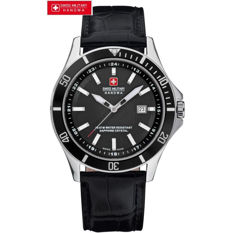 Gents Swiss Military Hanowa Flagship Watch (6-4161.2.04 ...