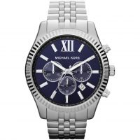 Michael Kors Lexington Herrkronograf Silver MK8280