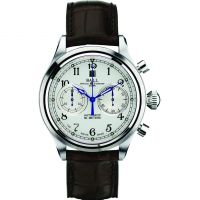 Herren Ball Trainmaster Cannonball Chronograph Watch CM1052D-L1J-WH