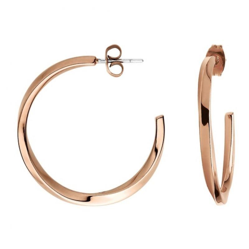 Ladies Calvin Klein PVD rose plating Exclusive Earrings KJ0KPE100100
