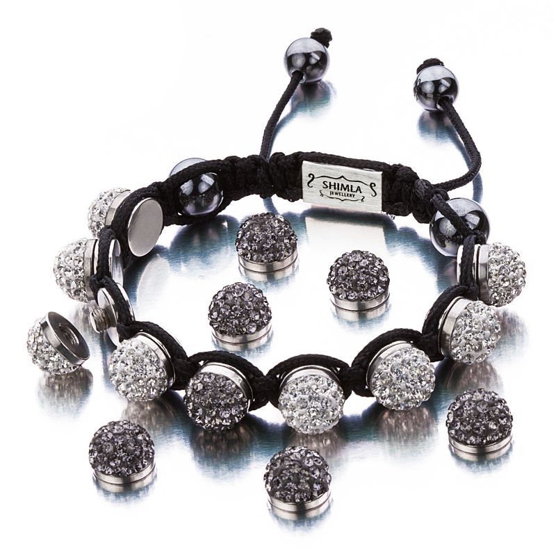 Ladies Shimla Stainless Steel Interchangeable Crystal Bracelet SH-111