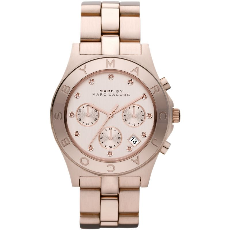 Ladies Marc Jacobs Blade Chronograph Watch MBM3102